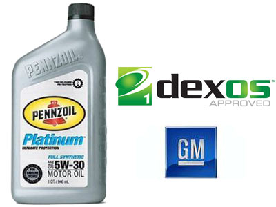 Our Pennzoil Platinum® is dexos1™-approved
